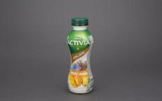 Jogurt mango-ananas-siemię lniane z nasionami (0,89%) i zbożami (0,3%)