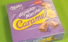 Alpejskie Mleczko Caramel Milka