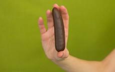 Pianka o smaku bananowym w czekoladzie
