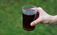 Szklanka barszczu czerwonego