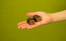 Batonik z masy twarogowo-kakaowej Magija
