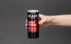 Black After Alcohol, gazowany napój energetyzujący o smaku cytrusowym z dodatkiem witamin