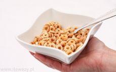 Porcja płatków Cheerios