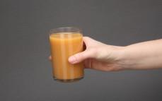 Szklanka Chias protein smoothie guava, coconut, acerola
