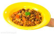 Porcja chili con carne