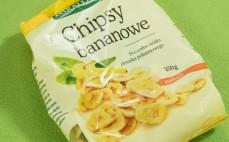Chipsy bananowe słodzone