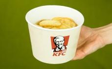 Porcja chipsów ziemniaczanych KFC