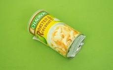 Pieczone chipsy kokosowe