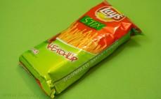 Chipsy ziemniaczane o smaku ketchupu Stix