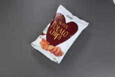 Chipsy z batatów smażone na oleju kokosowym, ekologiczne