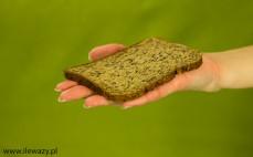 Kromka chleba białkowego