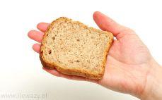 Kromka chleba graham