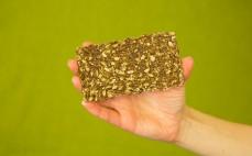 Chleb lniany niepieczony - żywy Habżyki
