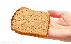 Kromka chleba na miodzie