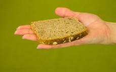 Kromka chleba z amarantusem