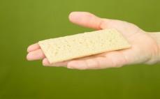 Kromka chleba ryżowego z figami
