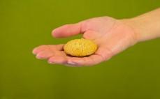 Ciasteczko owsiane z masłem