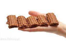 5 kruchych ciastek kakaowych