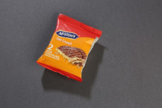 Ciastka owsiano-pszenne w mlecznej czekoladzie