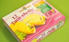 Muszle z mąki kukurydzianej Taco Shells