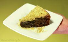 Kawałek ciasta czekoladowego