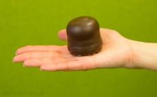 Ciepły lód w czekoladzie
