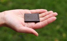 Kostka czekolady 70%