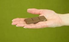Rządek czekolady mlecznej z galaretką Wawel