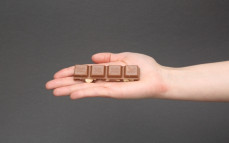 Rządek czekolady Ritter Sport macadamia