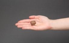 Kostka czekolady Ritter Sport macadamia