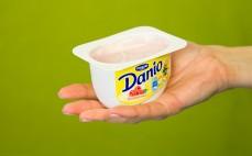 Porcja serka malinowego Danio