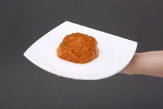 Porcja sałatki wegetariańskiej ciecierzyca