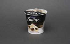Satino Rzym, deser z białej czekolady z musem czekoladowym