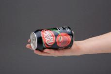 Porcja (puszka) napoju gazowanego Dr Pepper Cherry, o smaku migdałowo-wiśniowym