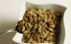 Łyżka nasion dyni