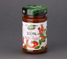 Dżem z dzikiej róży i jabłek 100% z owoców