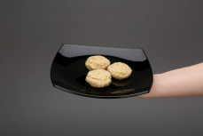 Porcja kotlecików falafel