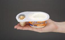 Jogurt Fantasia z czekoladą białą, karmelową