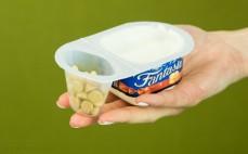 Porcja jogurtu kremowego z biszkoptami Fantasia
