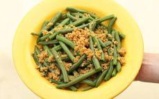 Porcja fasolki szparagowej