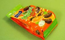Fasolki z galaretką pomarańczową w czekoladzie
