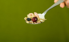Łyżka płatków zbożowych Fital żurawina + borówka + jagody goji