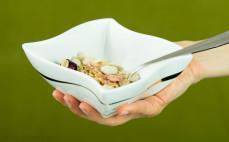 Porcja płatków zbożowych Fital truskawka malina wiśnia