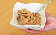 Porcja płatków fitella diet