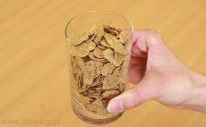 Szklanka płatków fitella diet