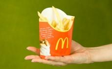 Porcja frytek McDonald's