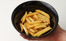 Porcja frytek smażonych