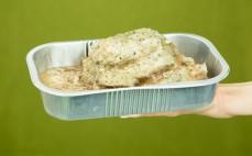 Porcja golonki wieprzowej gotowana metodą sous vide