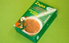 Zupa pomidorowa z makaronem bezglutenowa niskobiałkowa