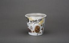 Granola białkowa z płatkami owsianymi, kakao i pastą sezamową tahini